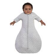 halo sleepsack easy transition in gray heather