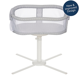 halo bassinest essentia series bedside bassinet