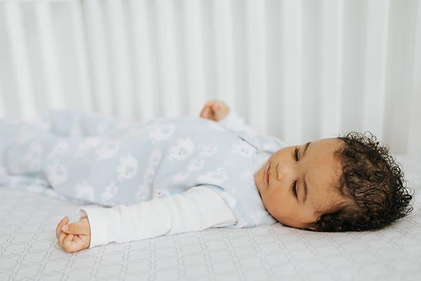baby in halo sleepsack wearable blanket