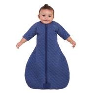 halo sleepsack easy transition in denim heather