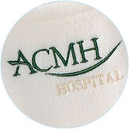 embroidery sample for participating hospitals logo
