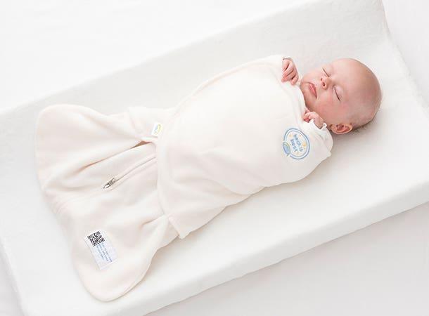 three way adjustable swaddle design halo sleepsack swaddle for hospital