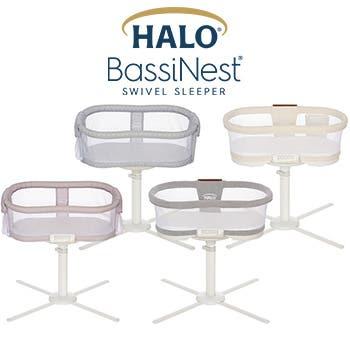 halo bassinest swivel sleeper category banner