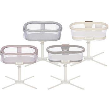 all four halo bassinest swivel sleeper models