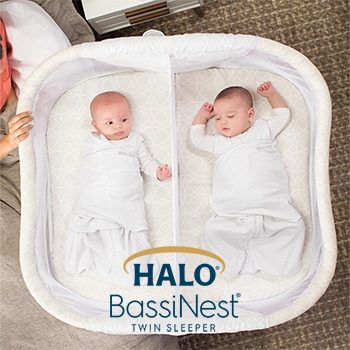 halo bassinest twin sleeper banner