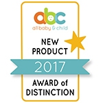 all baby and child new product of 2017 award of distinction