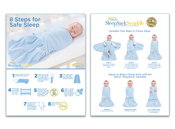 safe sleep posters for hospitals