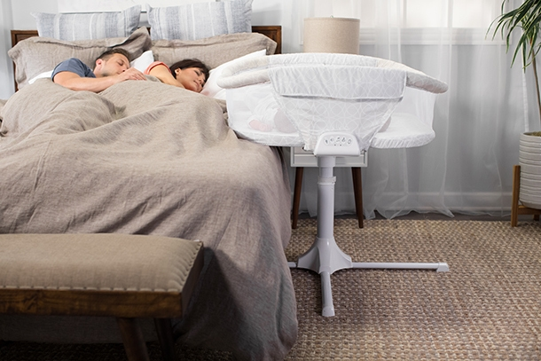 halo bassinest twin sleeper bedside bassinet for twins